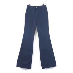 Tory Burch Blue Harbor Pants High Rise Flare